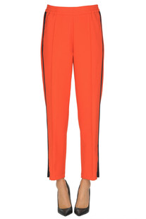 Contrasting side bands trousers Barena Venezia