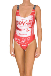 'Coca Cola' swimsuit Pinko