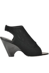 'Gaga' cut-out fabric sandals Strategia