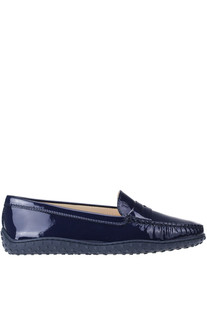 Patent leather mocassins Tod's