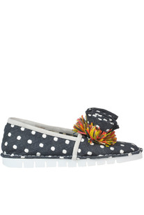 Nina embellished slip-on shoes Sofia M.