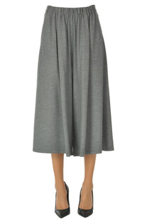 Wide leg cropped trousers Forte_Forte