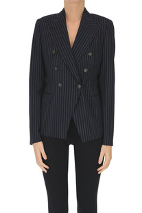 Pinstriped double-breasted blazer Tagliatore