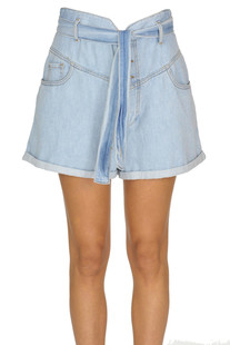 Denim shorts Pinko