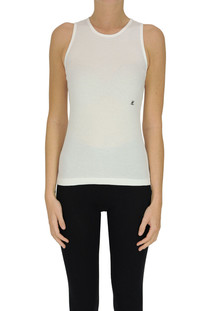 Ribbed cotton tank-top Helmut Lang