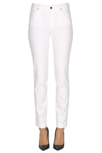 Embellished 5 pockets style trousers D.Exterior