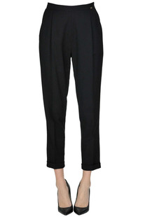 Viscose-blend trousers Elisabetta Franchi