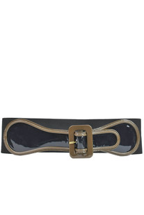 Patent-leather maxi waistbelt Marni