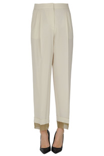 Wool trousers Peserico