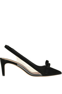 Suede slingback pumps RED Valentino