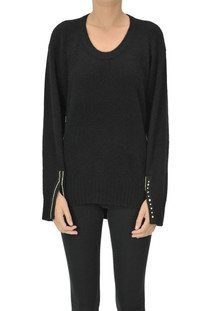 Embellished cuffs pullover 3.1 Phillip Lim