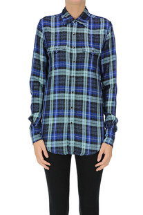 Checked print shirt Saint Laurent