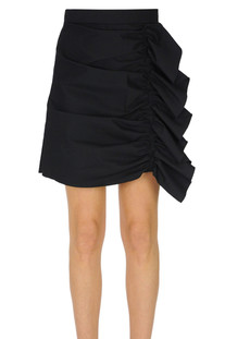 Ruched mini skirt RED Valentino