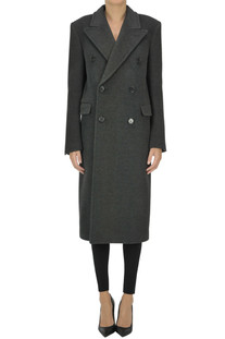 Wool double-breasted coat Saint Laurent