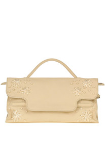 'Nina M Deruta Pura' leather bag Zanellato