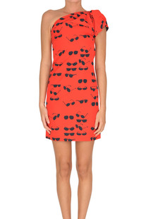 One-shoulder sheath dress Victoria Beckham