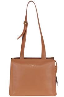 Double Me two-tone leather bag Rochas
