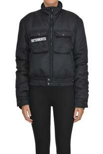 Police Reversible bomber jacket Vetements