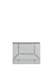 Studded leather wallet Orciani