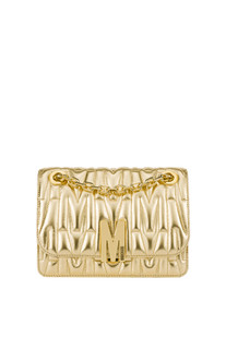 Quilted leather shoulder bag Moschino Couture