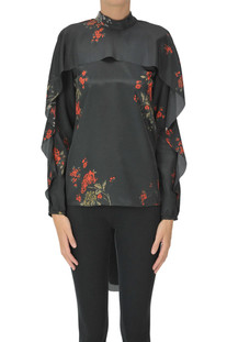 Flower print blouse RED Valentino