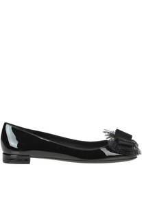 Mrarlia patent-leather ballerinas Salvatore Ferragamo