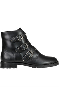Studded leather boots Schutz