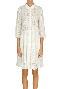 Sangallo lace shirt dress Twin-set  Simona Barbieri
