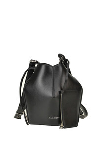 Leather bucket bag Alexander Mcqueen