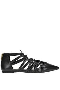 Clarissa leather ballerinas Michael Michael Kors