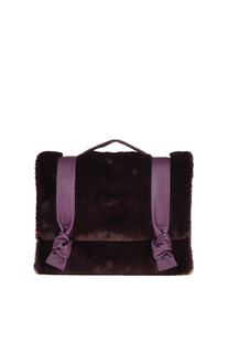 Bella bag with ecofur Orciani