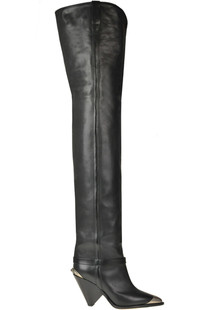 Leather over the knee boots Isabel Marant