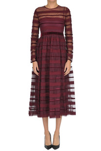 Plumetis tulle dress RED Valentino