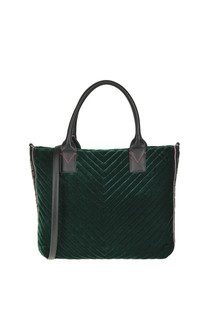 Adams quilted velvet bag Pinko