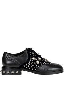 Follie embellished kace-up shoes Ash