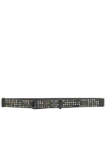 Studded leather belt Orciani