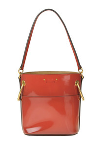 Roy patent leather buckle bag Chloé
