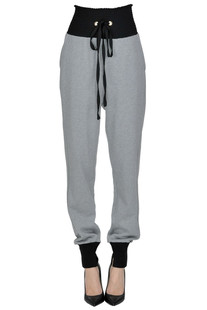 Fleece jogging trousers Pinko