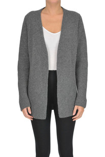 Ribbed cashmere knit cardigan Alyki
