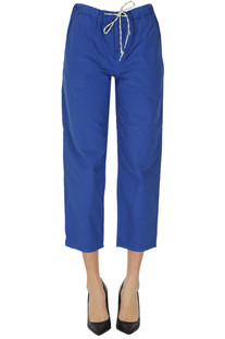 Cropped cotton trousers Bellerose