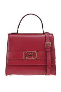 Leather bag Alberta Ferretti