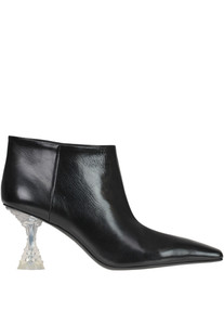 'Facetted' heel ankle-boots Céline