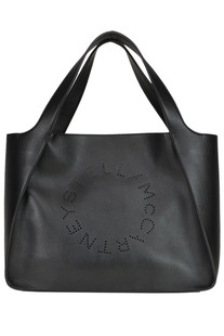Stella Logo Tote eco-leather bag Stella McCartney
