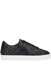 Quilted leather sneakers Burberry