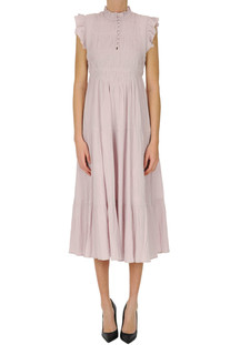 Cotton midi dress Ba&sh