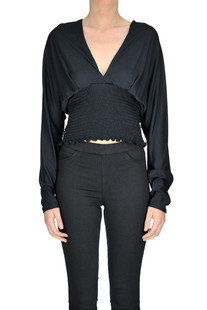 Briony cropped blouse Dondup