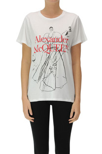 Dancing Girls t-shirt Alexander Mcqueen