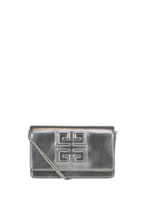 Emblem Chain Wallet leather mini bag Givenchy