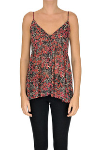 Flower print crepè top Aniye By