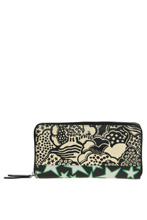 Printed leather wallet Marc Jacobs